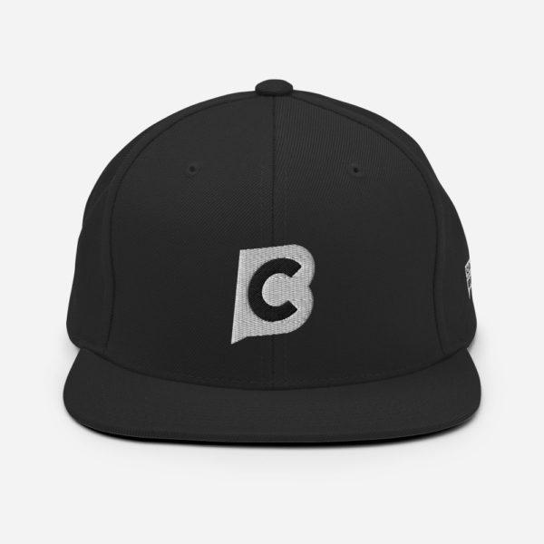 classic snapback black 5fecb2ff9be7c Ciaburri Brand Alt Logo Snapback Hat